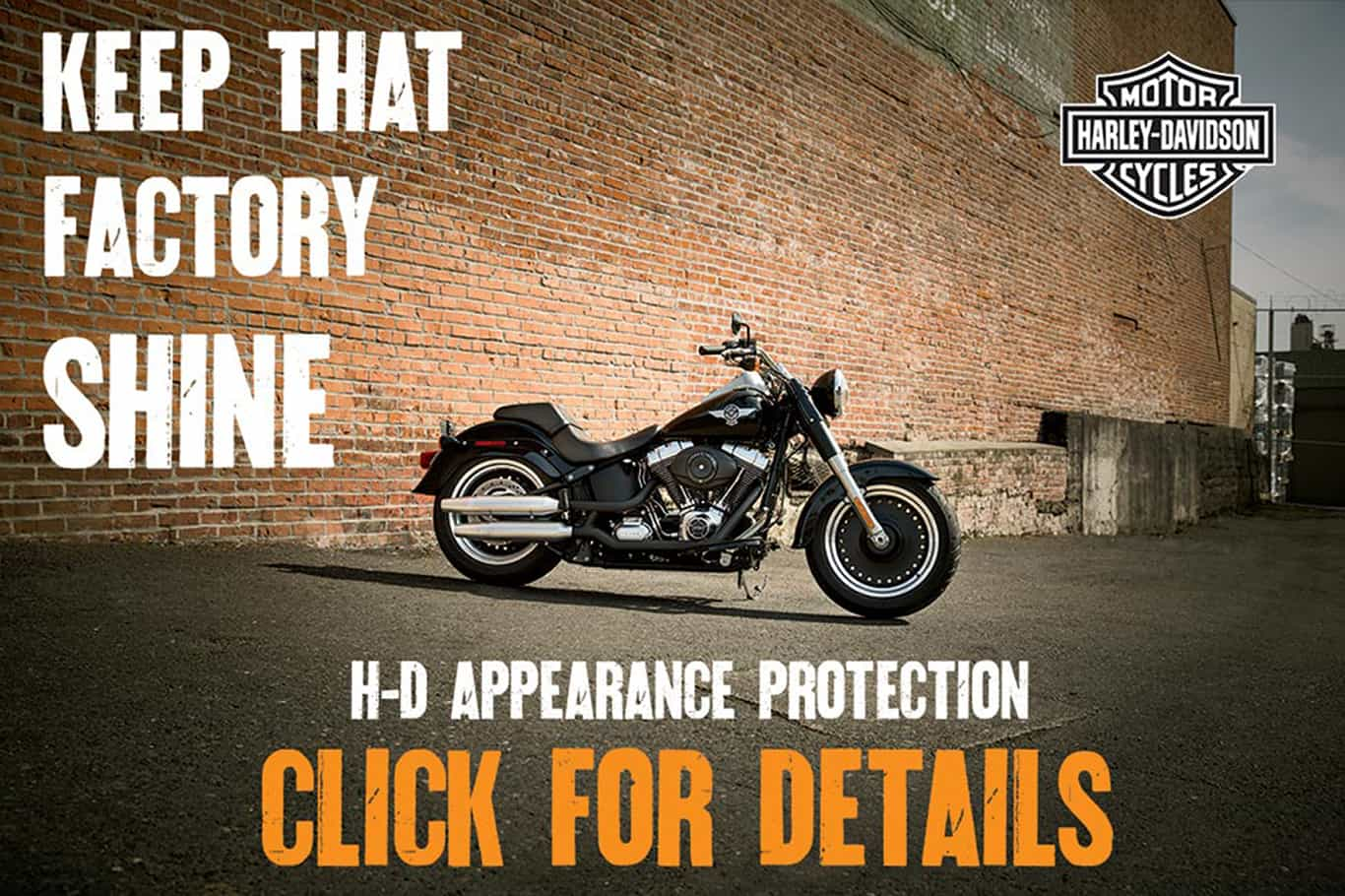 H-D® Appearance Protection | Person riding black Harley-Davidson® motorcycle